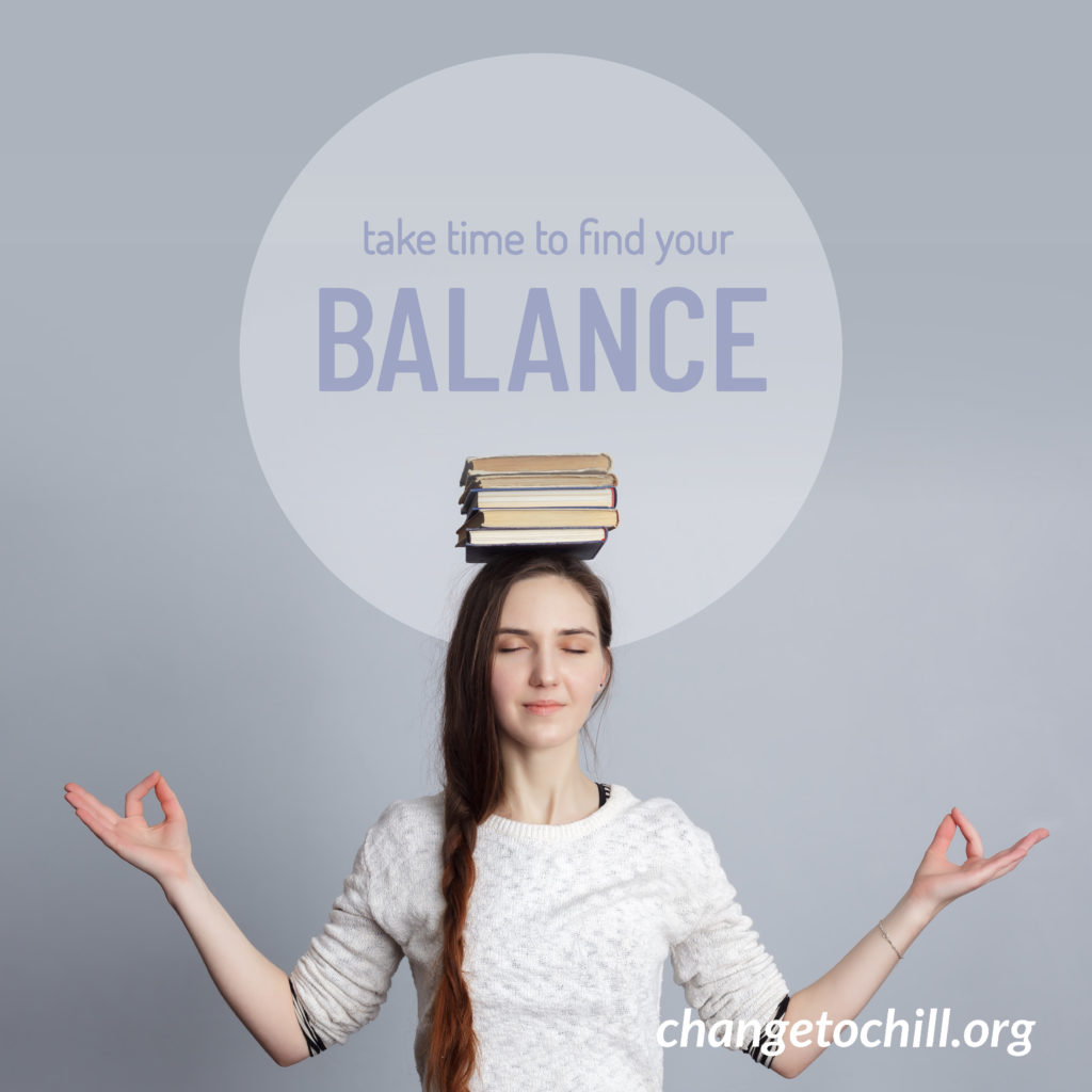 Time to Find Your Balance